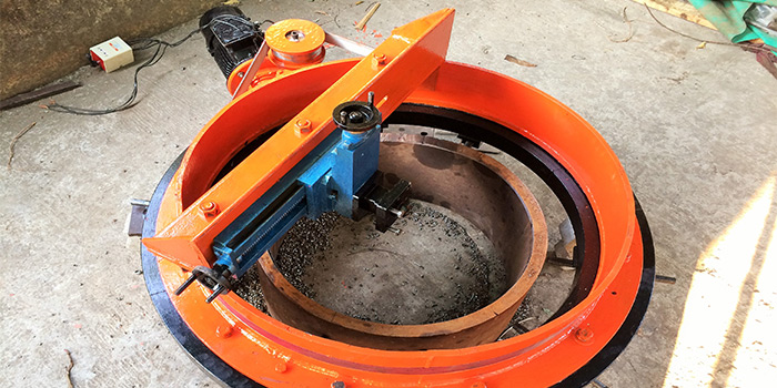 Portable Pipe Cutting Machine